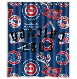 great shower curtain chicago cubs size 60