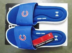 Under Armour Ignite MLB V Slide Sandals Chicago Cubs   11M  