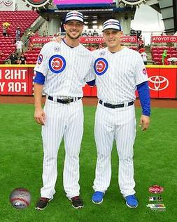 Kris Bryant Anthony Rizzo Chicago Cubs Authentic 8x10 Photo