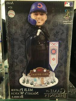 KRIS BRYANT Chicago Cubs Game of Thrones Night's Watch HBO B