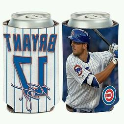 KRIS BRYANT CHICAGO CUBS NEOPRENE CAN BOTTLE COOZIE KOOZIE C