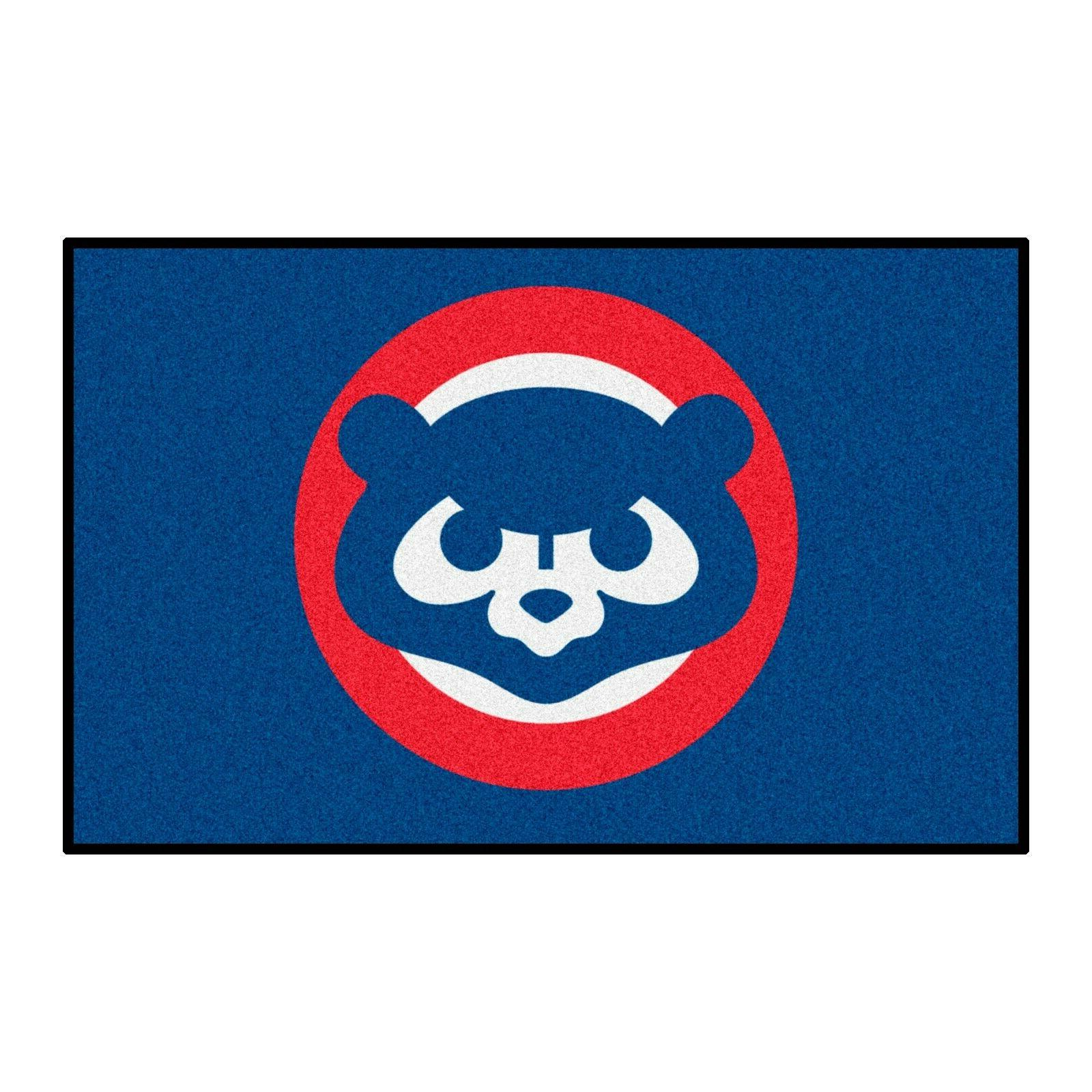 """1990 Chicago Cubs Collection X 30"""" Starter Area Rug Mat"""