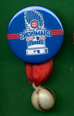 2016 world series chicago cubs pin champs
