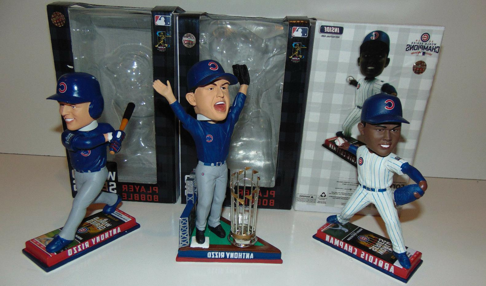3 chicago cubs rizzo chapman 2016 world