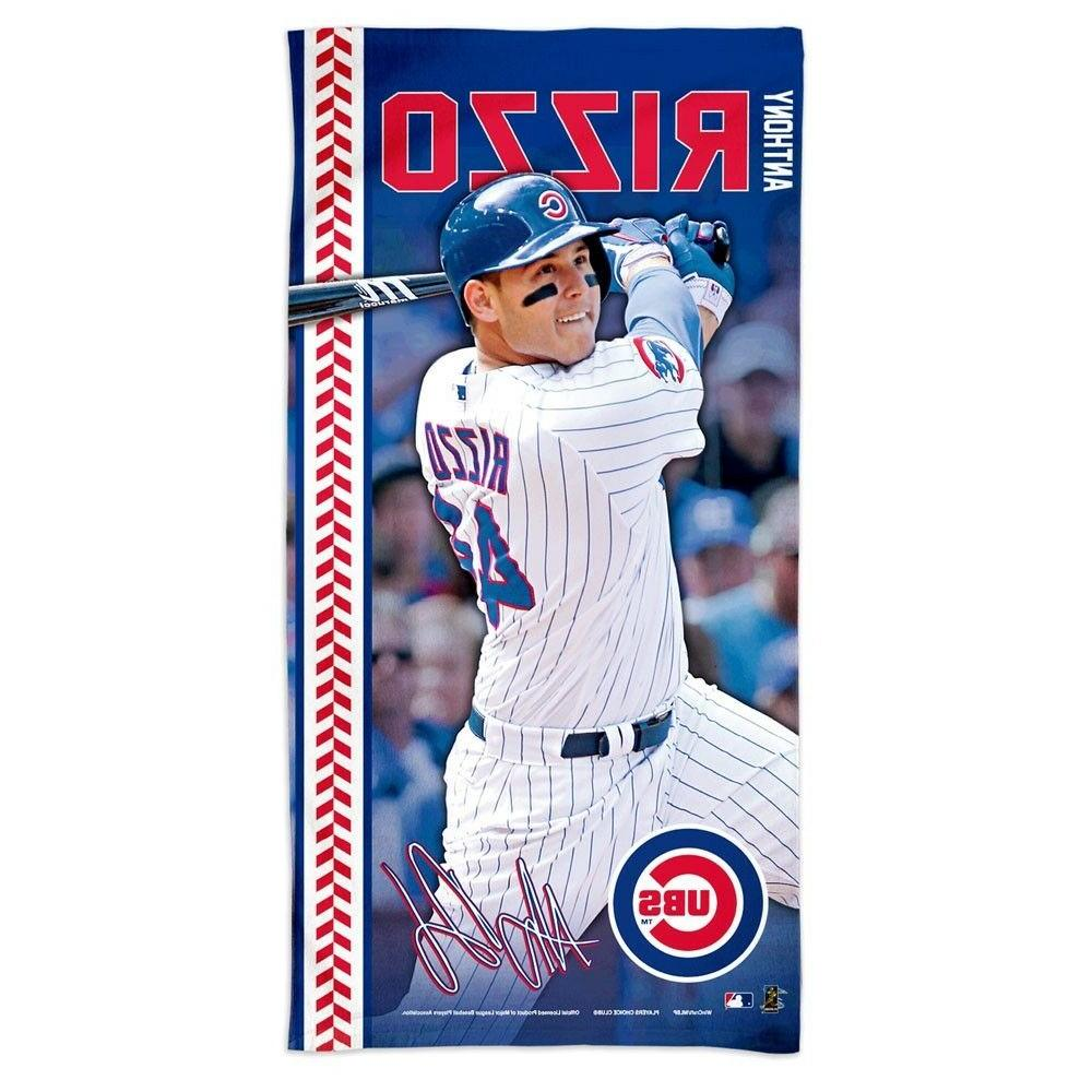 anthony rizzo 44 chicago cubs 30 x60