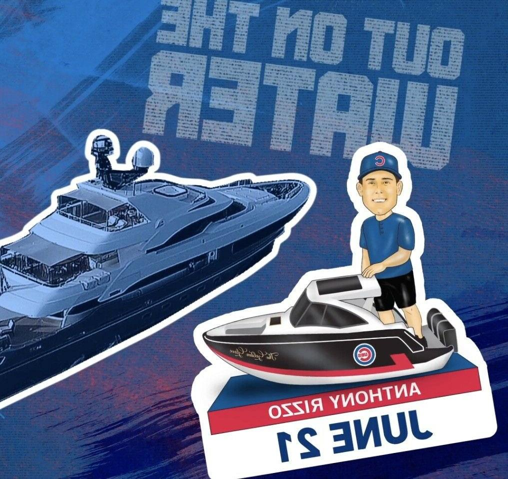 anthony rizzo out on the water bobblehead