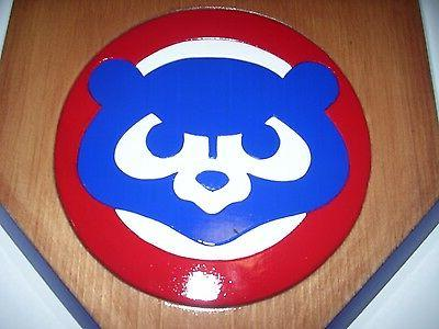 Bobble Chicago Cubs home display Stained x
