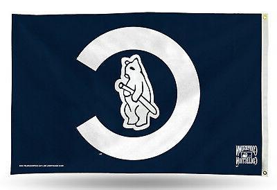 Chicago Cubs 1914 Cooperstown RETRO Rico 3x5 Flag Outdoor Ba