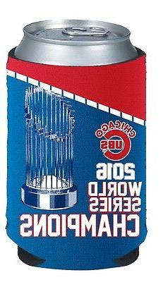 Chicago Cubs 2016 World Series Champions Koozie Can Cooler