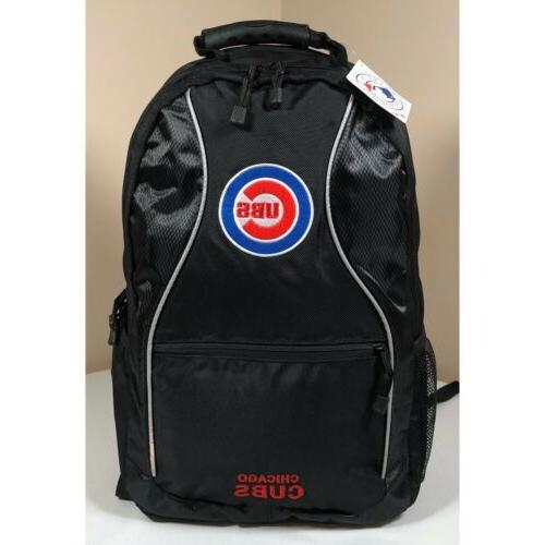 chicago cubs backpack adult size mlb black