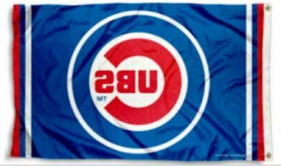 Chicago Cubs Flag 3x5 Banner New USA 5