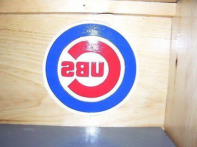 Chicago Cubs Bobble Display Case World 2016 Handcrafted