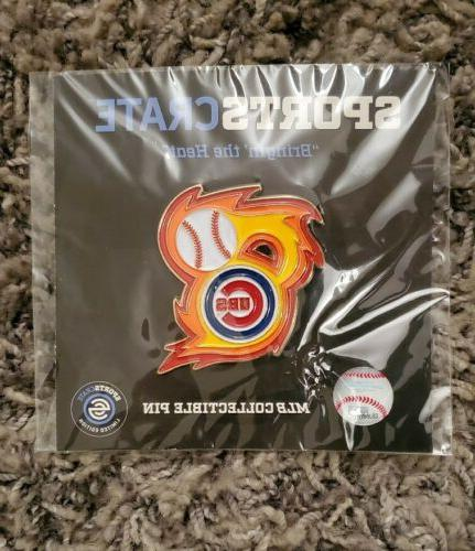Chicago Heat Collectible Pin Crate Exclusive
