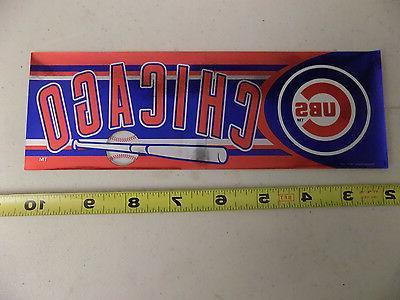 Chicago Cubs MLB 2002 Sticker