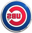 Chicago Cubs CE3 Raised Die Cut Color Chrome Auto Home Emble