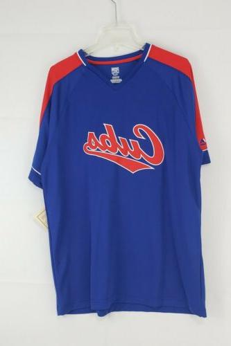 Chicago Cubs Collection Majestic Jersey Shirt