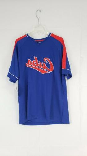 chicago cubs cooperstown collection jersey shirt xl