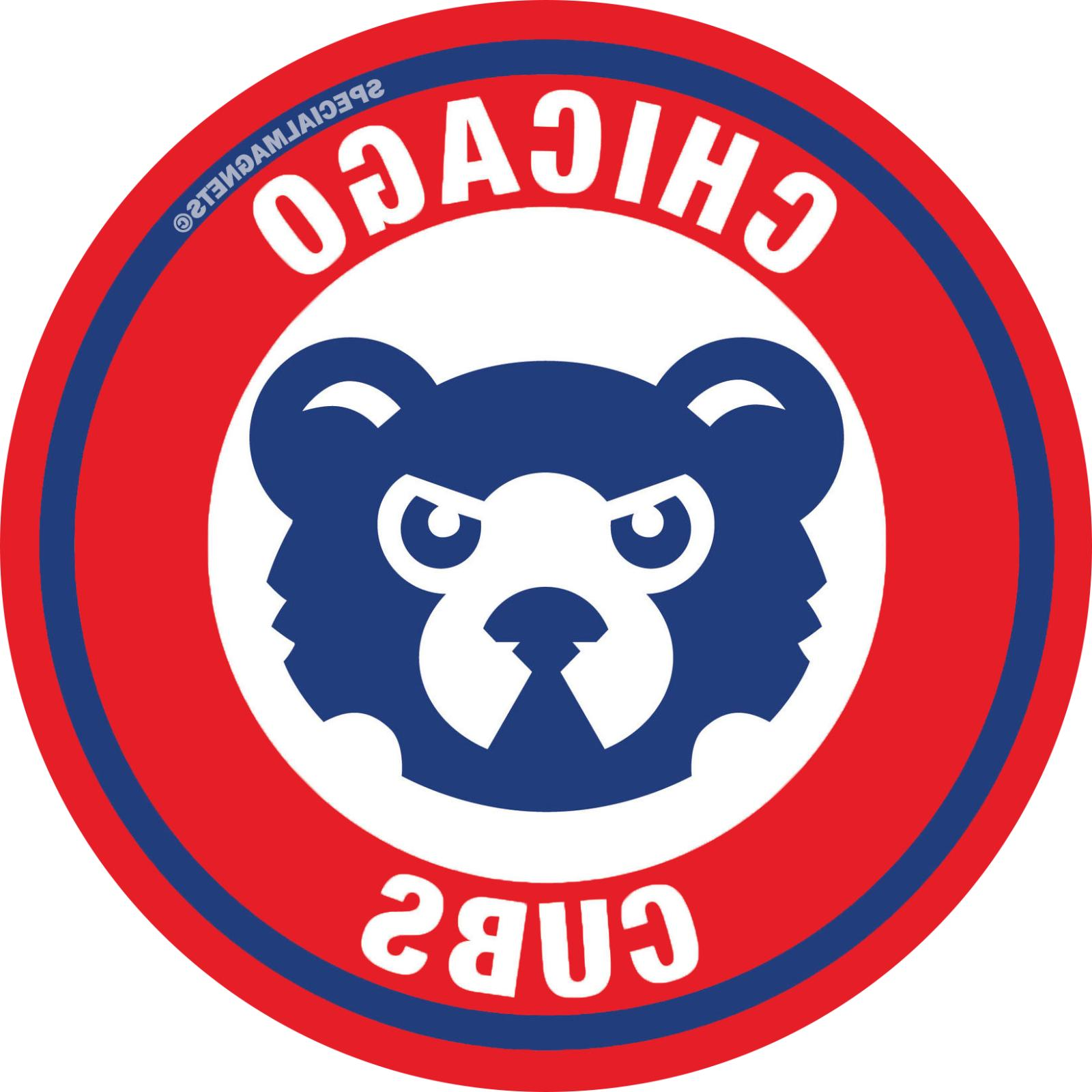 Chicago Cubs car bumper fridge pc sport ps magnets FREE STICKERS