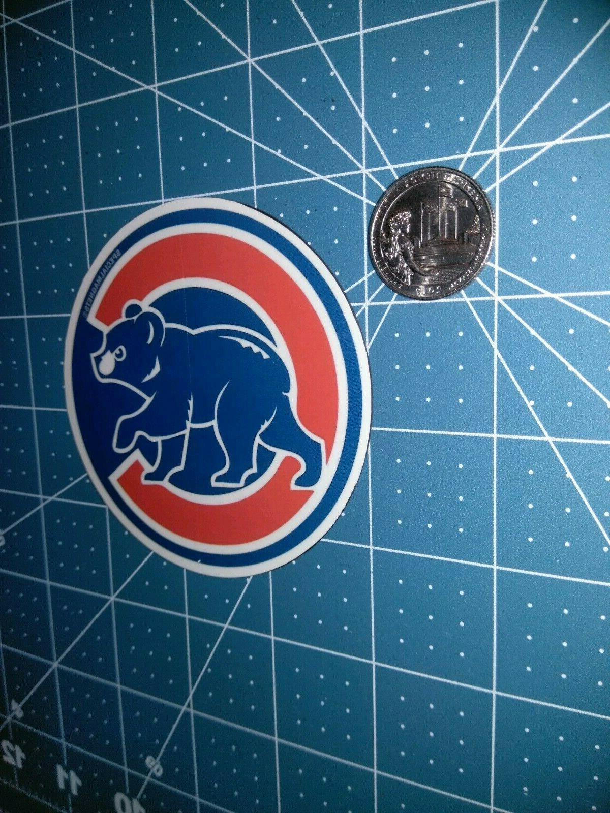 Chicago Cubs decal car bumper sport magnets 1 FREE