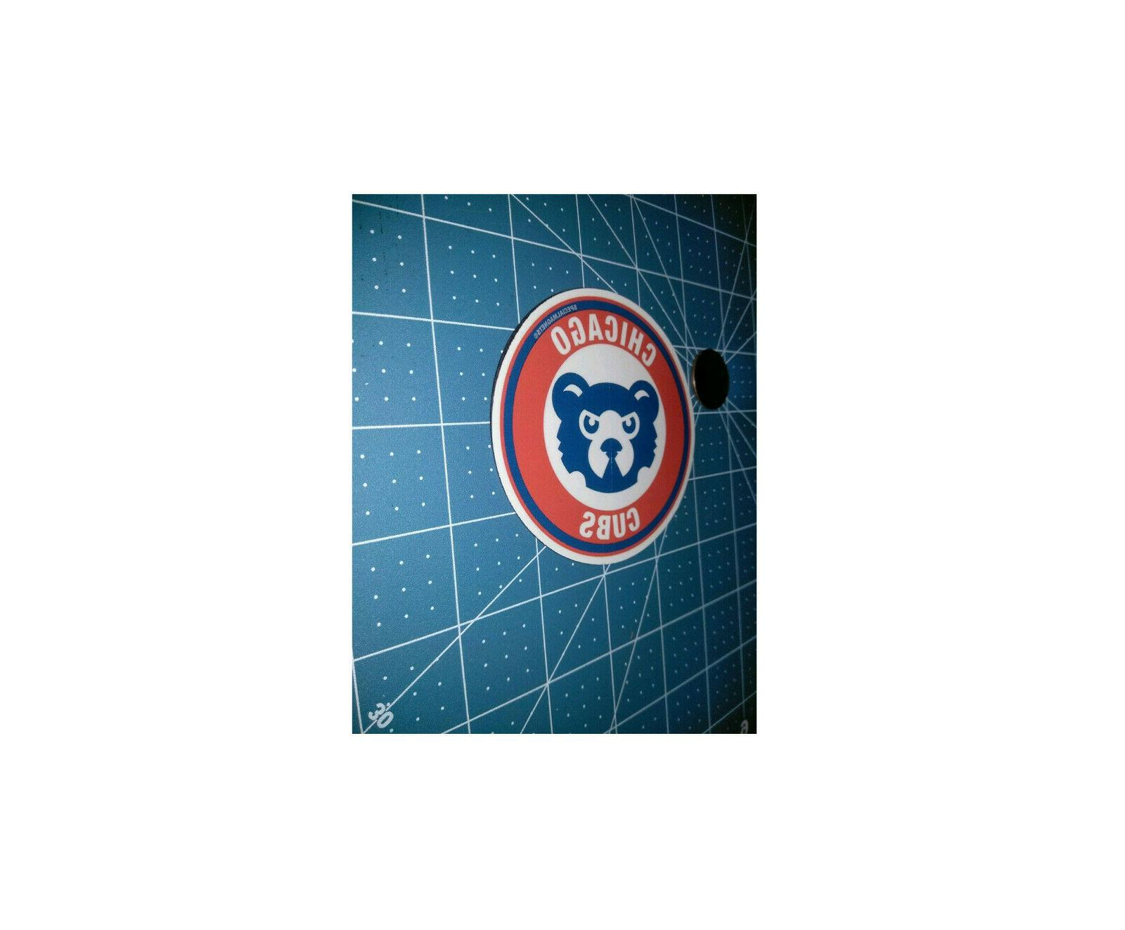 Chicago Cubs decal magnet car sport ps FREE STICKERS