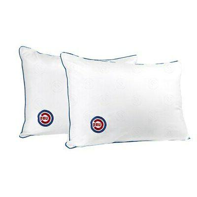 chicago cubs embroidered everyday bed pillow twin