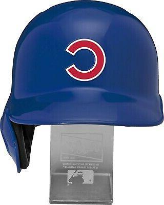 CHICAGO CUBS Full Rawlings Helmet w/ Display