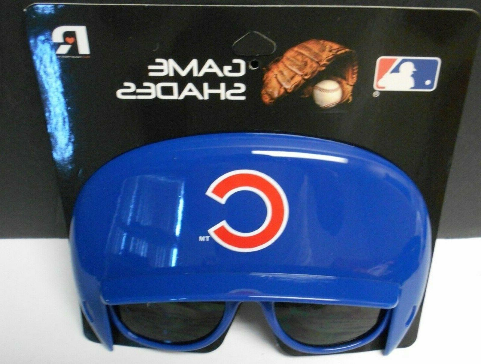 chicago cubs game shades baseball helmet shaped