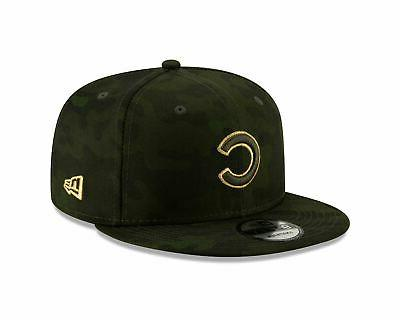 chicago cubs hat armed forces day on