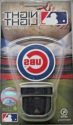 Chicago Cubs LED Nightlight Reg. Logo Authentic Street Signs