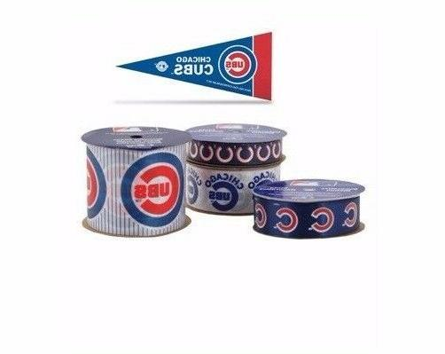 chicago cubs licensed mlb ribbons and mini