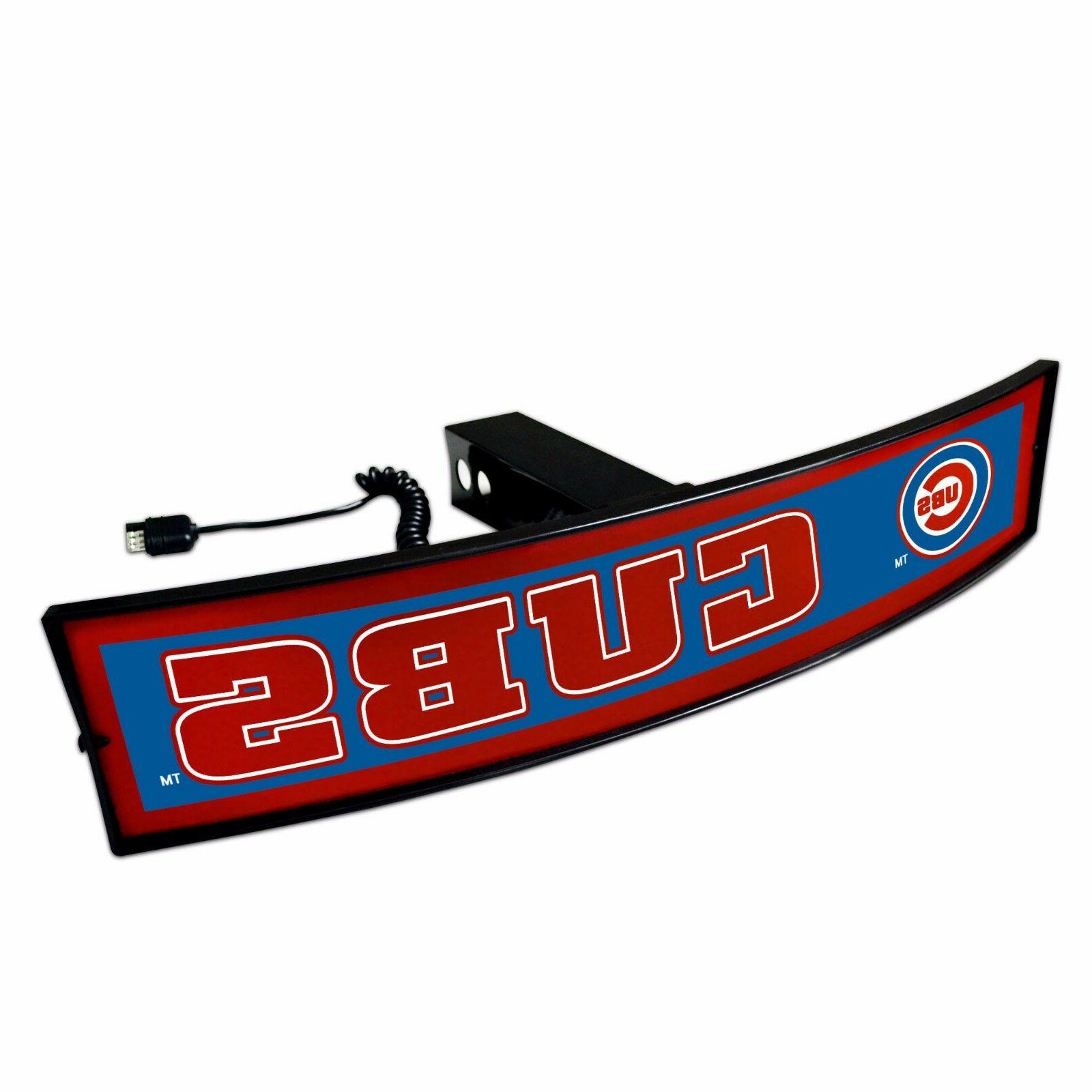 chicago cubs light up hitch cover led