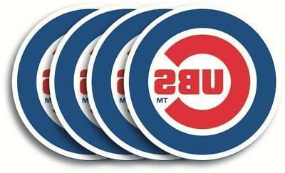 chicago cubs lot of 4 mlb heavy