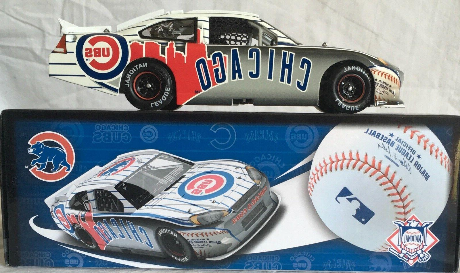 Chicago Cubs Major League Baseball Diecast Car, 1:24 Scale H