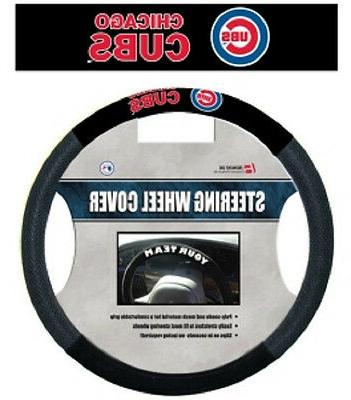 chicago cubs mesh steering wheel cover new