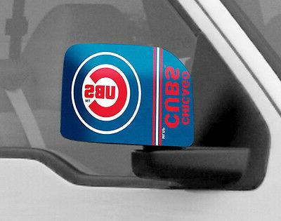 chicago cubs mirror cover 2 pack large