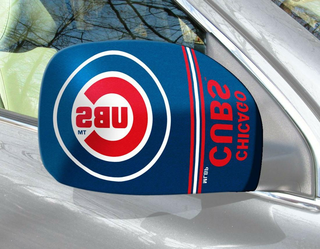 chicago cubs mirror cover 2 pack small