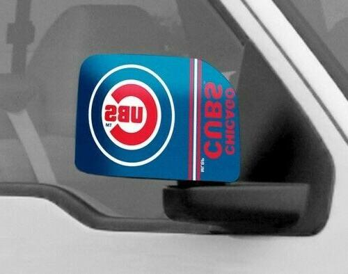 chicago cubs mirror covers small car truck