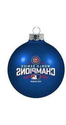 Chicago Cubs MLB 2016 World Series Champions Ornaments Champ