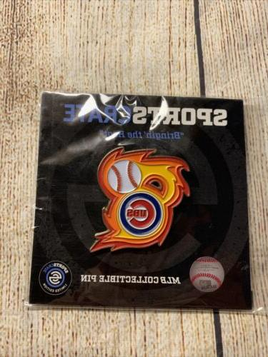 chicago cubs mlb collectible pin sports crate