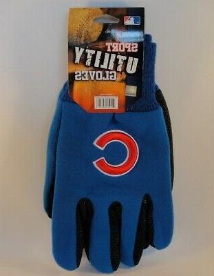 chicago cubs mlb sport utility gloves blue