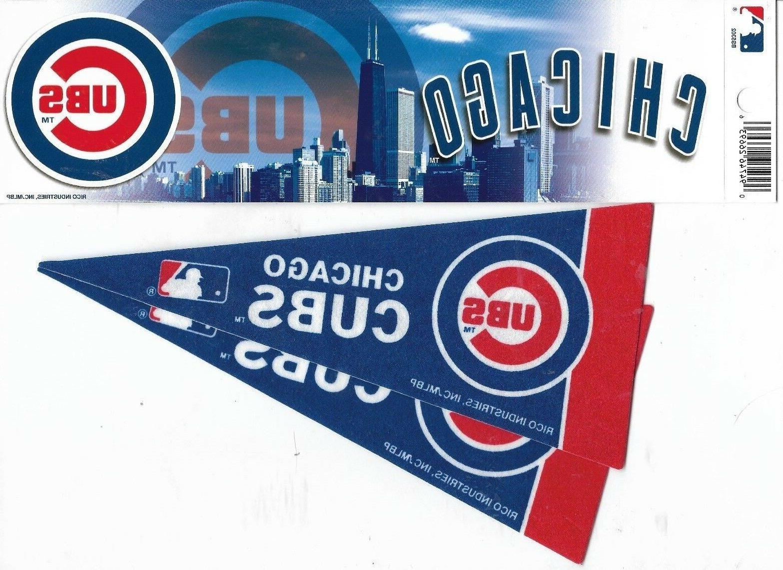 chicago cubs one bumper sticker two minni