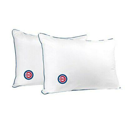 chicago cubs printed everyday bed pillow twin