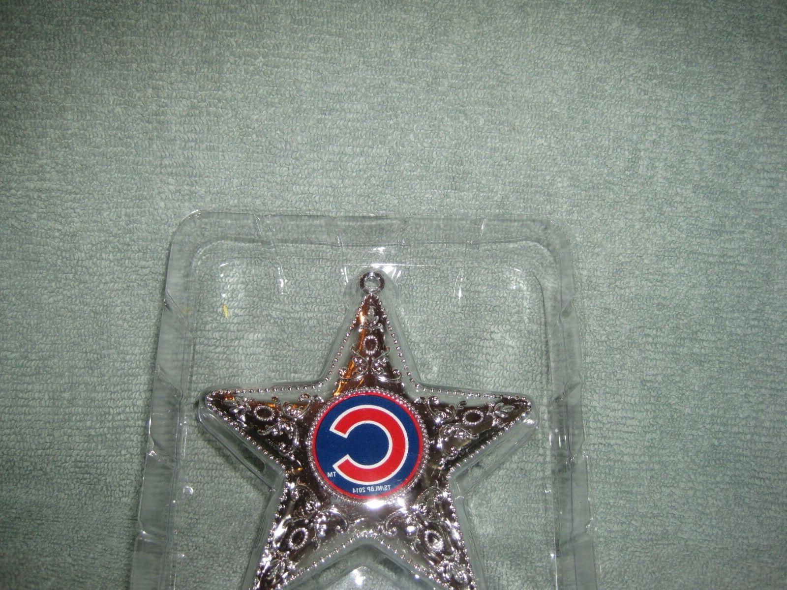 Chicago Cubs Sports Series Silver Star