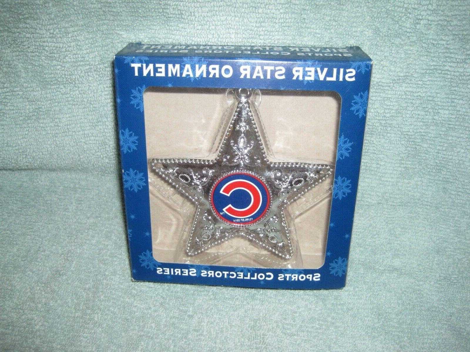 chicago cubs sports collector series silver star