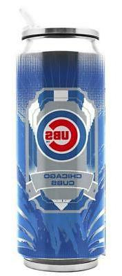Chicago Cubs Stainless Steel 16.9oz Thermo Can  MLB Mug Tumb