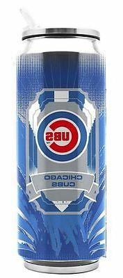 Chicago Cubs Stainless Steel Thermo Can - 16.9oz  Tumbler Mu
