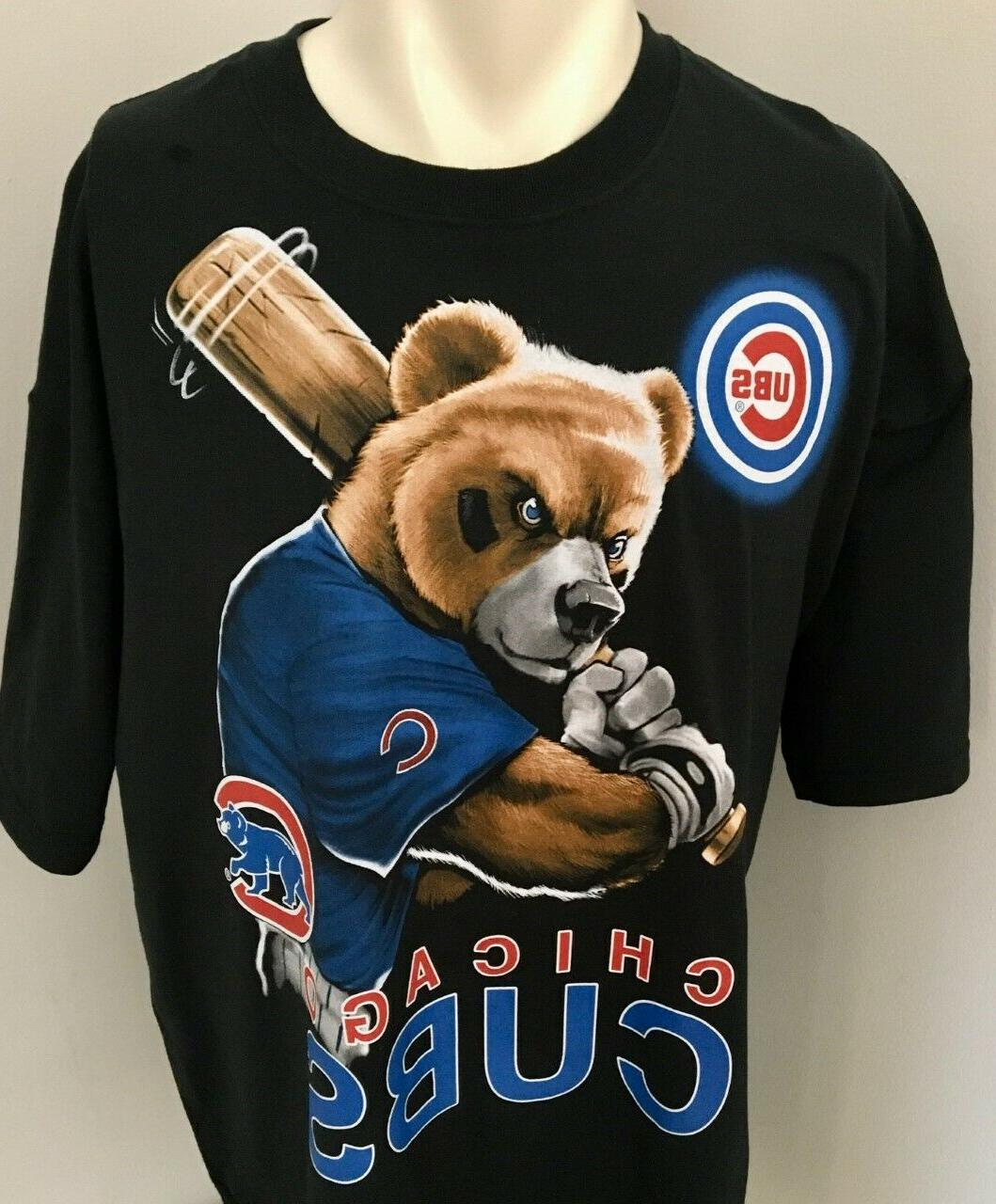 Chicago Cubs Batting Bear Cotton Size XL