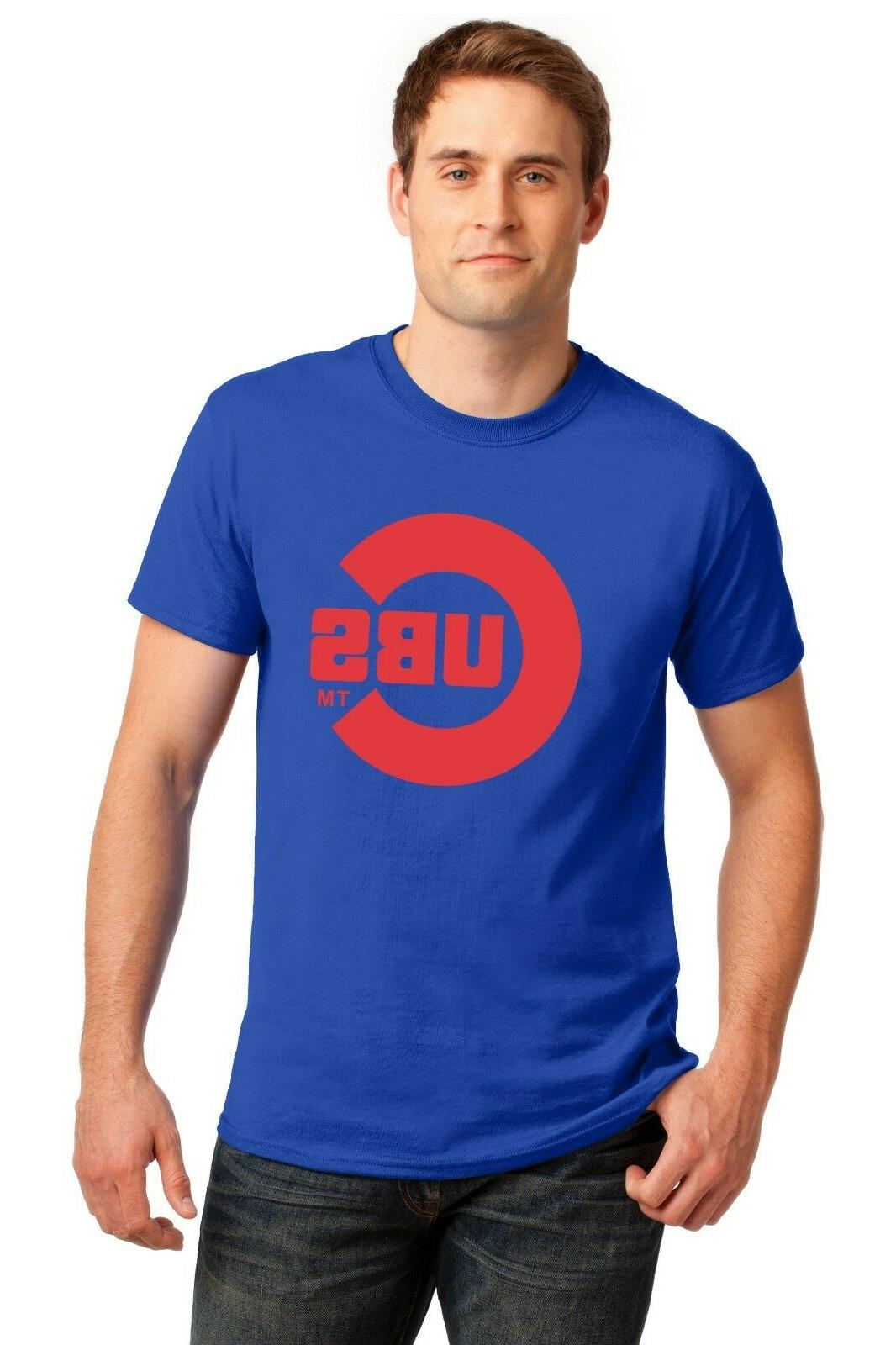 chicago cubs t shirt world series champs
