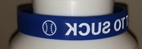 Chicago Cubs TRY TO bracelet white Joe Maddon