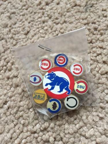 chicago cubs vintage pin 2 style logo
